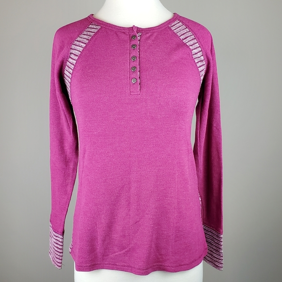 Lucky Brand Tops - Lucky Brand Pink Thermal